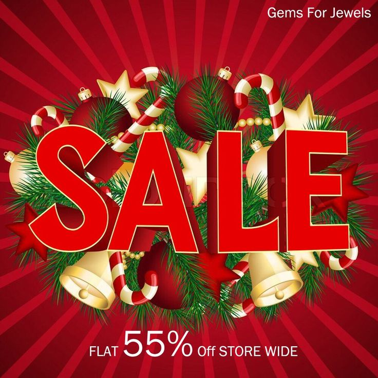 Shop till you drop at our grand Christmas Sale - Flat 55% off storewide!! Only on Gemsforjewels.  Joy to the world the LORD has come...