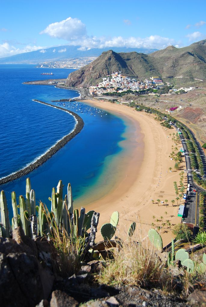 "travelingcolors: ""Las Teresitas Beach, Tenerife 