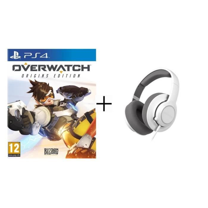 92.71 € ❤ Le #BonPlan pas cher - Pack #Overwatch Edition Origins pour #PS4 + #Steelseries Casque #Gaming Siberia RAW ➡ https://ad.zanox.com/ppc/?28290640C84663587&ulp=[[http://www.cdiscount.com/jeux-pc-video-console/ps4/pack-overwatch-edition-origins-jeu-ps4-steelseri/f-1030401-bunps4owraw.html?refer=zanoxpb&cid=affil&cm_mmc=zanoxpb-_-userid]]