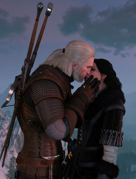 geralt and yennefer by - photo #24