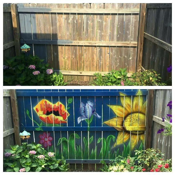 Fence Painting Ideas Painted Houses Exterior Home Painting Ideas