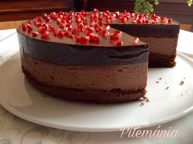 Pitemánia: Tripla csokoládés torta