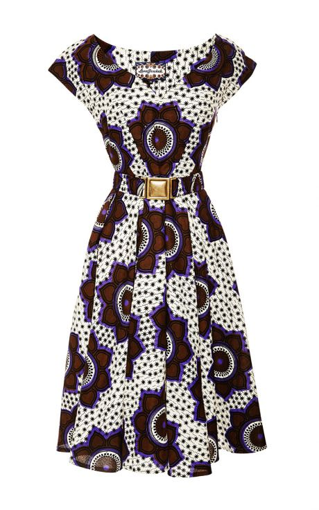 Chocolate Stars Makeba Dress by for Preorder on Moda Operandi. Latest African Fashion, African Prints, African fashion styles, African clothing, Nigerian style, Ghanaian fashion, African women dresses, African Bags, African shoes, Nigerian fashion, Ankara, Aso okè, Kenté, brocade etc ~DK
