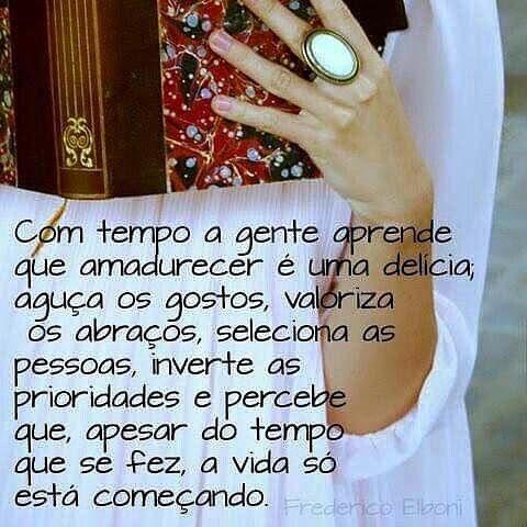 PROSA  -   TRECOS     E     CACARECOS: AMADURECER!.....reflection