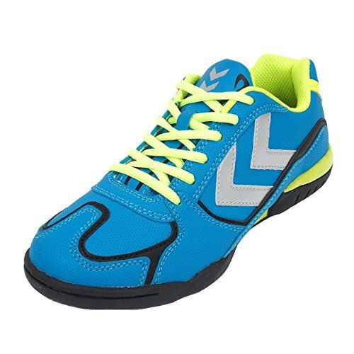 Hummel – Rootsblk/blu/jne indoorjr – Chaussures handball – Bleu moyen – Taille 34: Composition du produit: -Extérieur: Synthétique.…