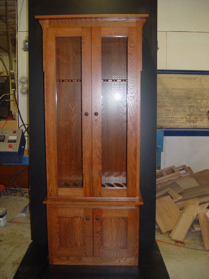 Oak Gun Cabinet Plans Free - WoodWorking Projects & Plans