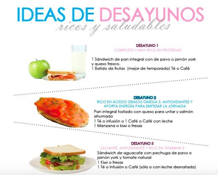 Te recomendamos 3 ricas formas para desayunar http www - Ideas para una cena saludable ...