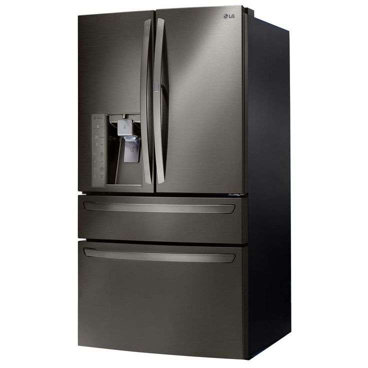LG Electronics 29.7 cu. ft. French Door Refrigerator with Door-in-Door in Black Stainless Steel-LMXS30776D - The Home Depot