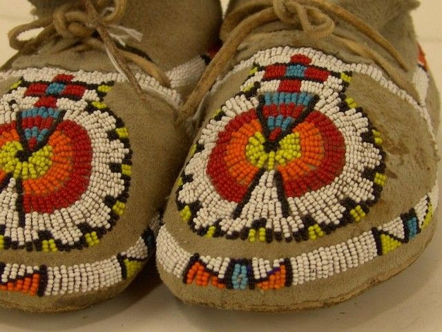 Traditional Cherokee Moccasins
