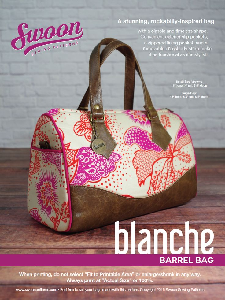 Swoon Sewing Patterns - Blanche Updated