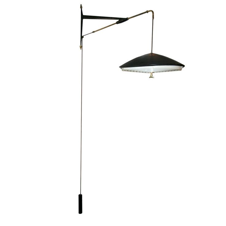 50's Hanging Wall Fixture by Arlus