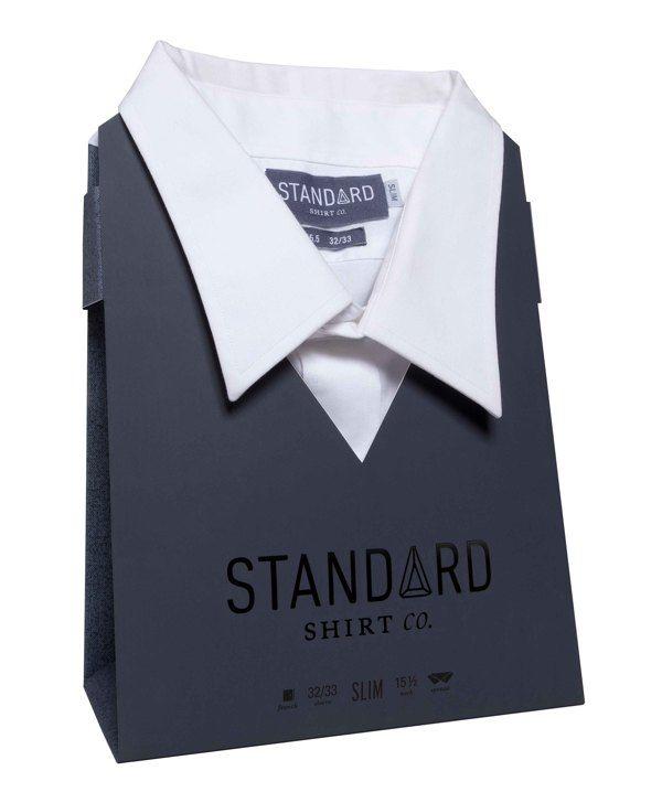 Standard Dress Shirt (redesign) by Jille Natalino, via Behance