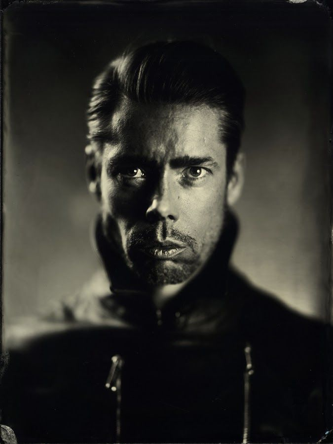 Alex Timmermans Collodion Ambrotype wet plate