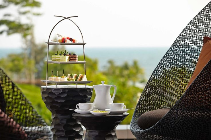 Tee genießen im Rayong Marriott Resort & Spa in Thailand