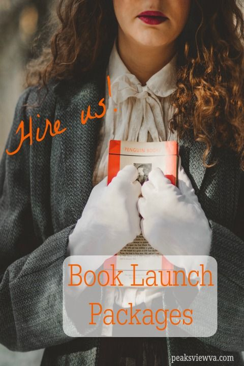 We now have three levels of Book Launch Packages from which to choose. Contact us to discuss your needs! Peaksview VA Services