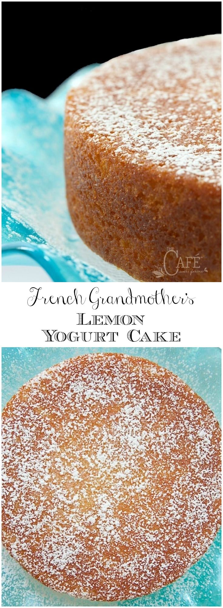 This fabulous French Grandmother's Lemon Yogurt Cake has a really fun history. It's also moist, super delicious and can be thrown together in minutes!