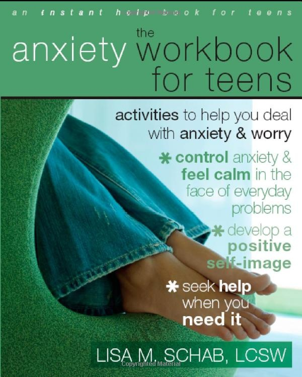 Anxiety Workbook for Teens - great resources that can be used in individual or group counseling