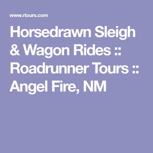 Horsedrawn Sleigh & Wagon Rides :: Roadrunner Tours :: Angel Fire, NM
