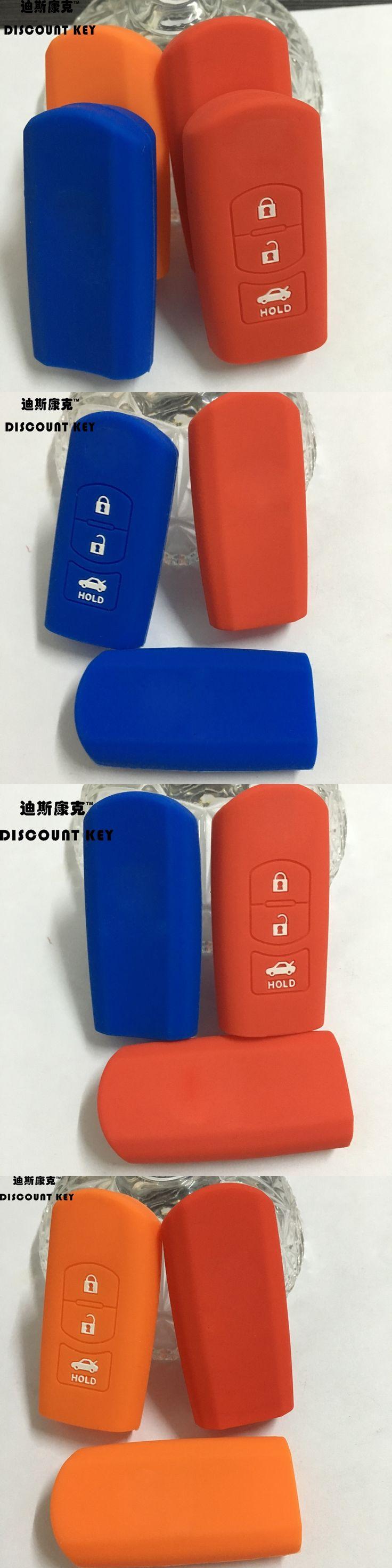 silicone Car remote key case ,auto key holder,key shell for Mazda cx-5,cx-7 3 ,5,6, auto accessories 3 buttons