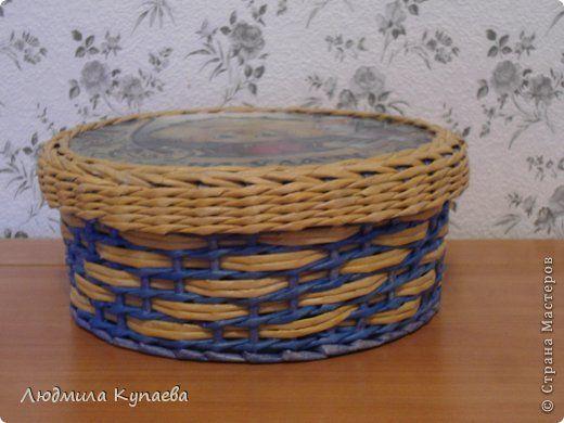 Поделка изделие Плетение Ваш уютный дом Бумага фото 4