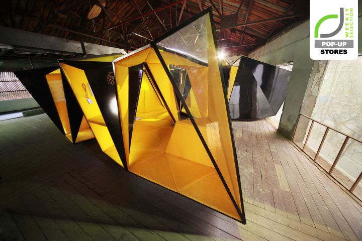 Rott Koksgolv : POPUP STORES! Lunar popup store by byn, Shanghai o China