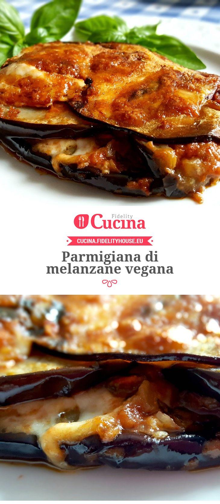 #Parmigiana di #melanzane vegana della nostra utente Monica. Unisciti alla nostra Community ed invia le tue ricette!