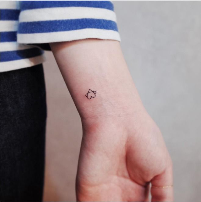 Delikatne tatuaże