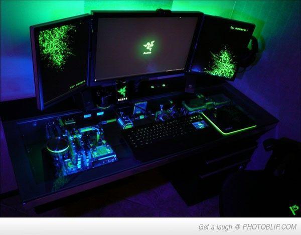 Zockerzimmer ideen  Die besten 25+ PC Gaming Setup Ideen auf Pinterest | Gaming ...
