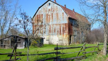 Beautiful barn of Prince Edward County, Ontario