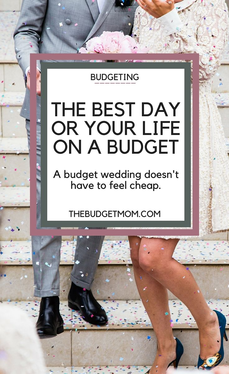 How To Have A Wedding On Budget