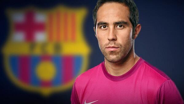 Claudio Bravo. Welcome to FC Barcelona!