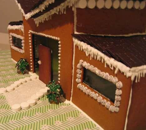 124 best Baking | Modern Gingerbread House Inspo (Mid Century & Log ...