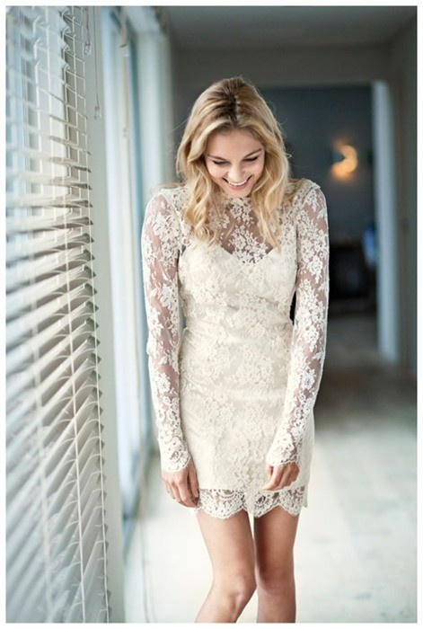 So happy that lace has made a comeback---because I planned on wearing it the entire wedding weekend regardless!