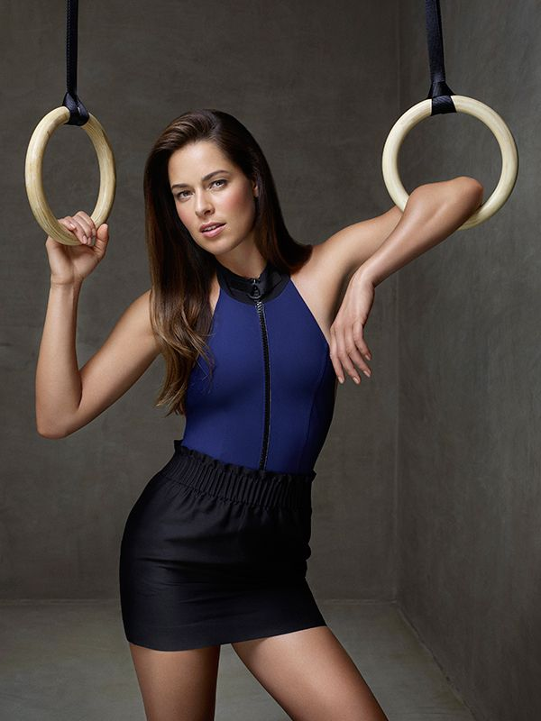 Ana Ivanovic - spokesperson for Shiseido Sun Care - Aug. 2015 - (via  stylecaster.com)