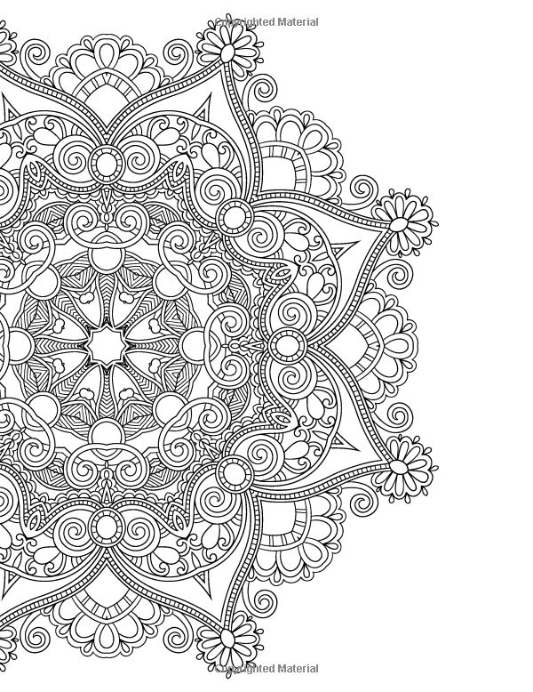 ≡The Mandalas Colouring Book: Just Add Colour and Create a Masterpiece: Beverley Lawson