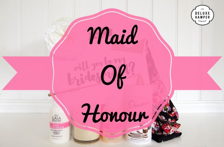 Will you be my Maid Of Honour….. Satin Robe Deluxe