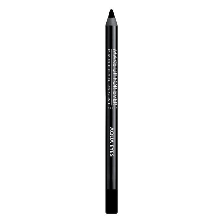 Aqua Eyes - Matte Black Waterproof Eyeliner Pencil 16200