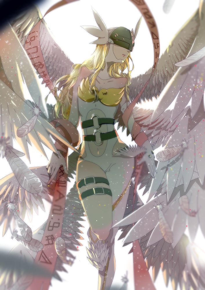Digimon Dragon's Shadowp: Angewomon