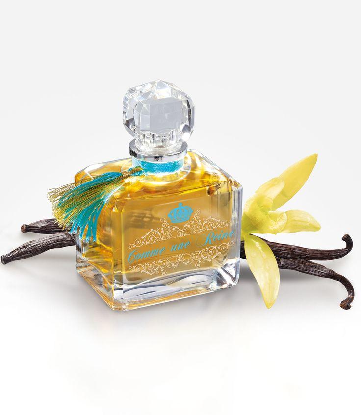 COMME UNE REINE : Fragrance poudrée d'ylang-ylang, senteur enivrante et majestueuse de bergamote s'échappant de boudoirs miclos… «Comme une Reine» accompagne chaque femme d'exception et ses secrets. Sous un corset de dentelles, bat un coeur de roses et de santal au rythme de notes vanillées. Sur un fond ambré royal, le parfum «Comme une Reine» donne à celles qui le portent une élégance princière nimbée de mystère. #perfumes #fredericm #parfums #mlm #grasse #fragrance #femme #woman