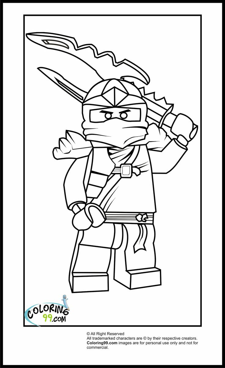 Lego Yoda Coloring Pages #8