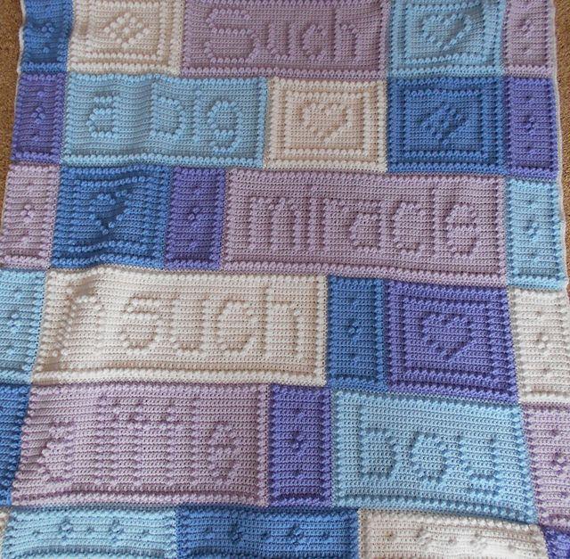 Ravelry: MIRACLE pattern for crocheted baby blanket pattern by Jody Pyott