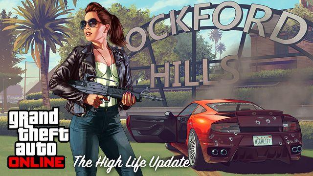 GTA ONLINE The High Life Update Artwork... article AntDaGamer.Com with Details.