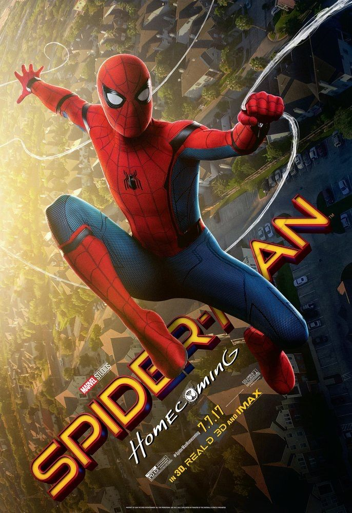 SPIDER-MAN HOMECOMING (RELEASE DATE:JULY 7TH 2017)