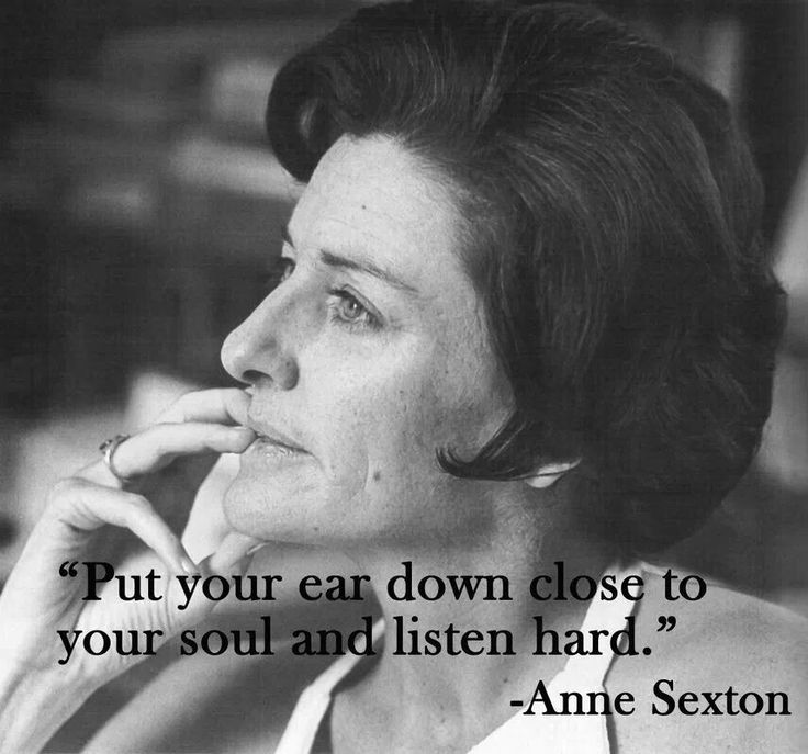 Pin By Jamie Cotant On What I Want: Anne Sexton