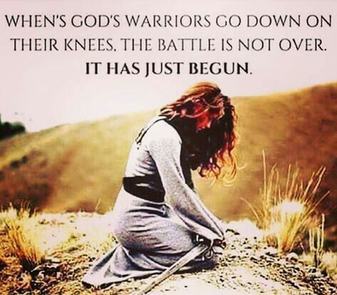 Gods Warriors Prayer