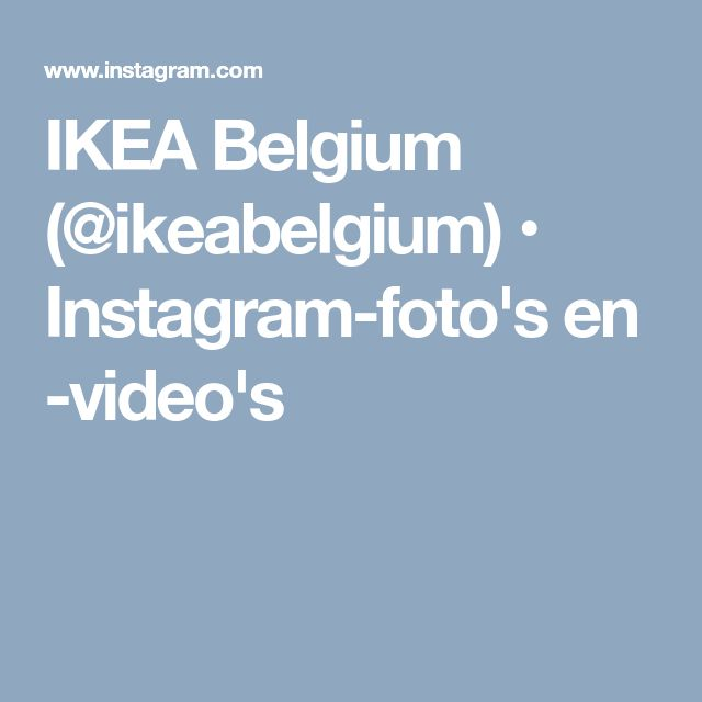 IKEA Belgium (@ikeabelgium) • Instagram-foto's en -video's