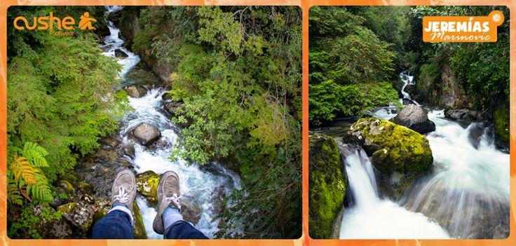 ¿Qué les parece esta foto que sacó nuestro amigo Jeremías Marinovic en Puyehue? La foto es en una cascada en un río en Rupanco :)