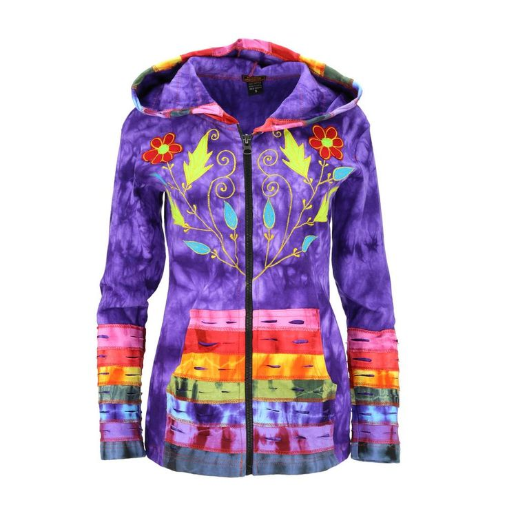 Majestic+Rainbow+Hooded+Jacket+at+The+Animal+Rescue+Site