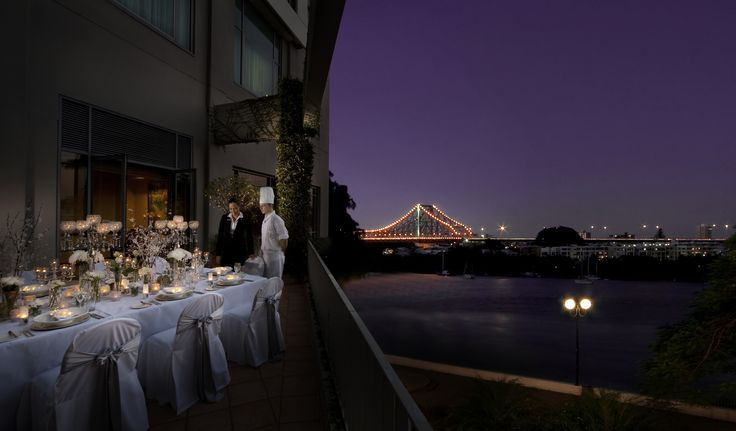 Our Riverview balconies are perfect for smaller events