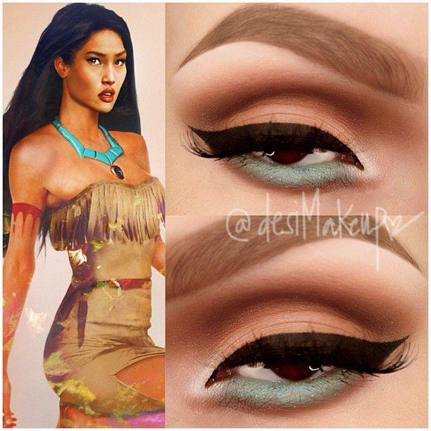 25+ best ideas about Pocahontas Makeup on Pinterest : Good eyeshadow ...